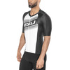 2XU Compression Sleeved Tri Top Men black/white logo graphic
